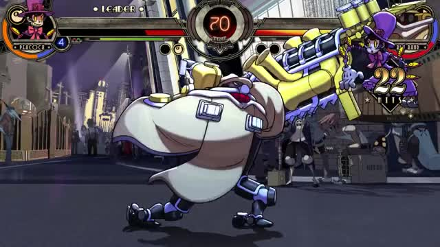 Watch Skullgirls Replay 0001 GIF on Gfycat. Discover more Gaming, I can show you the world, MikeZ said it was only 1 in 20, Peacock, Psychopathman12, Road Roller, Skullgirls, Who needs a BnB when you have a DnD, Why isn't it a D10 roll instead? GIFs on Gfycat