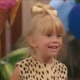 Michelle is so excited XD full house GIFs