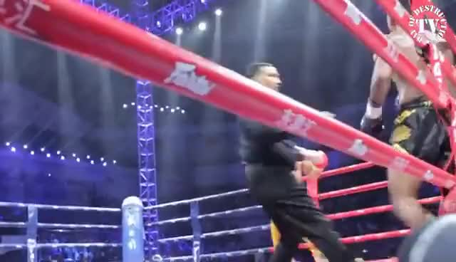 Watch and share Buakaw Vs Yi Long - Fight Of The Century GIFs on Gfycat