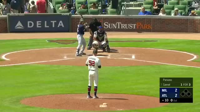 Watch and share Milwaukee Brewers GIFs and Atlanta Braves GIFs on Gfycat