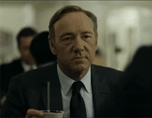 Watch and share Kevin Spacey GIFs and Frustrated GIFs by Reactions on Gfycat