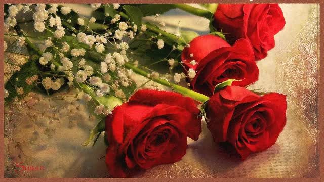 Watch and share Gif Rosas Rojas GIFs by Susan on Gfycat