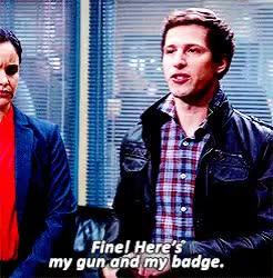 Watch badge GIF on Gfycat. Discover more andy samberg GIFs on Gfycat