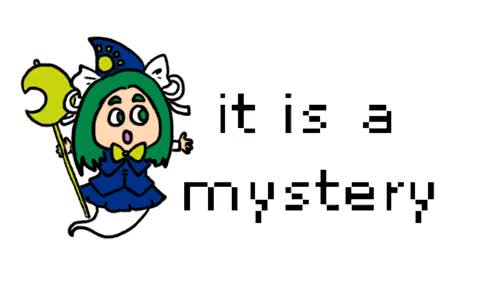 Watch It is a mystery. GIF on Gfycat. Discover more IT IS A MYSTERY, gif, manamanami, mima, touhou GIFs on Gfycat