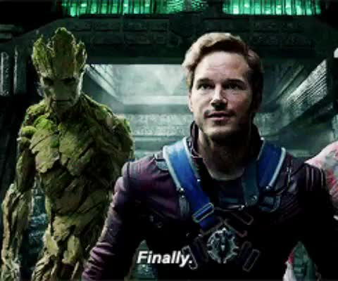 Watch and share Guardians Of The Galaxy GIFs and Chris Pratt GIFs on Gfycat