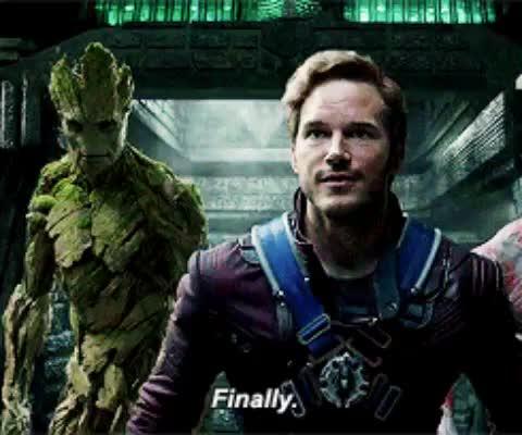 chris pratt, finally, guardians of the galaxy, finally GIFs