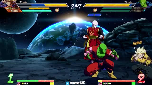 Watch and share Dragonball Fighterz GIFs and Dbfz Apologyman GIFs by EventHubs on Gfycat