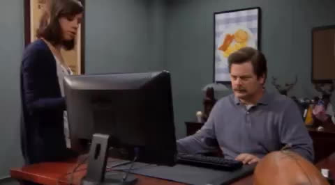 nick offerman, Computer GIF - Find & Share on GIPHY GIFs