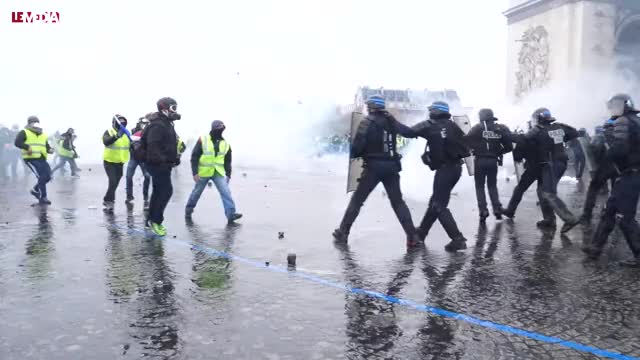Watch and share Arc De Triomphe GIFs and Gilets Jaunes GIFs on Gfycat