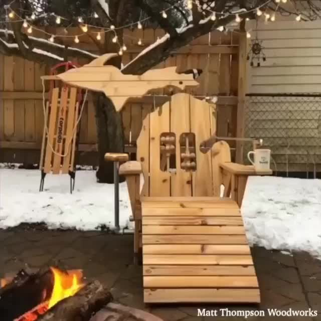 Watch and share Woodworking GIFs and Chair GIFs by Boojibs on Gfycat