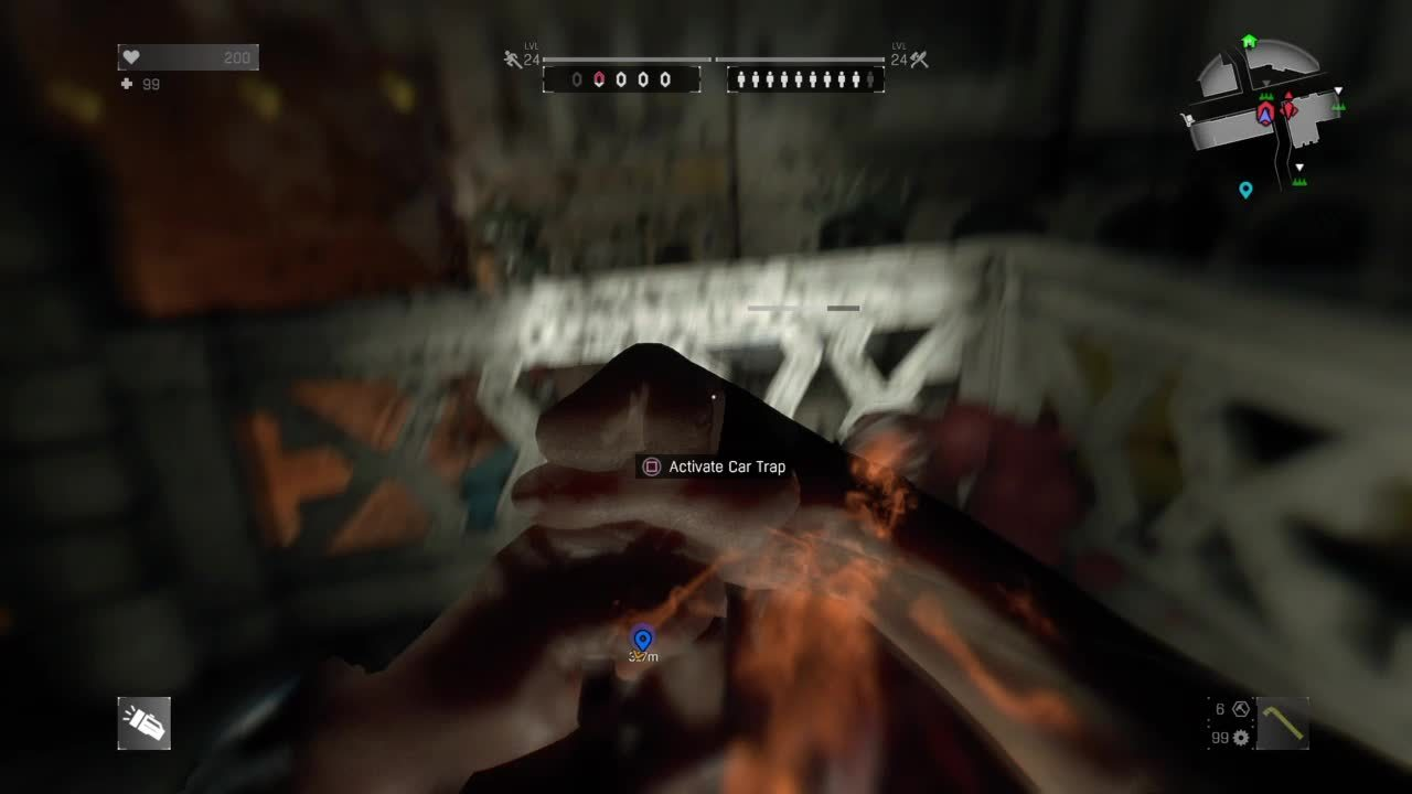 dyinglight, Tackle Hammer Pound GIFs