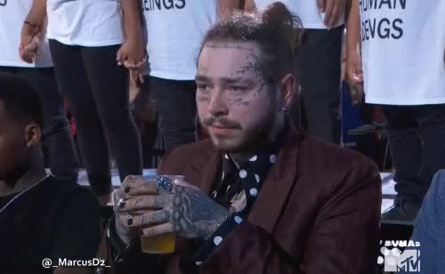 Watch this post malone GIF by MarcusD (@-marcusd-) on Gfycat. Discover more celebs, post malone GIFs on Gfycat