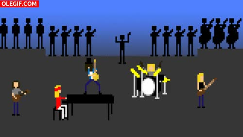 Watch and share GIF: Una Banda De Música Con Orquesta GIFs on Gfycat
