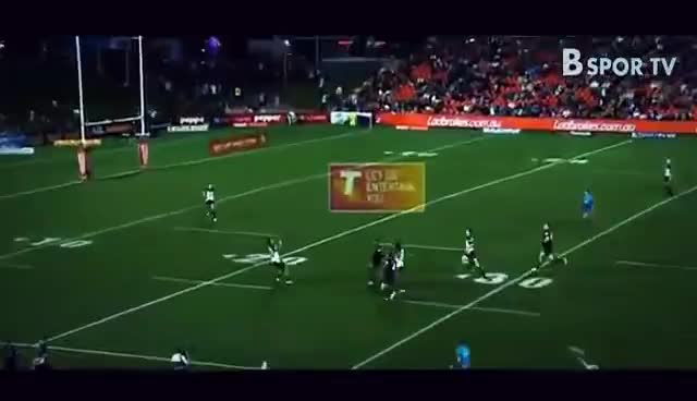 RUGBY LEAGUE BIGGEST HITS - NRL GIFs