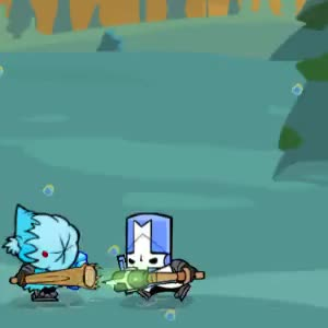 Watch and share Castle Crashers Throw GIFs by a1rpun on Gfycat