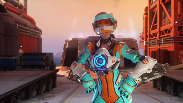Watch Tracer* GIF on Gfycat. Discover more PS4share, Melded, Overwatch: Origins Edition, PlayStation 4, Sony Interactive Entertainment, overwatch, tracer GIFs on Gfycat