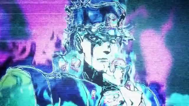 """Watch and share JJBA - Jotaro """"YES YES YES"""" GIFs on Gfycat"""