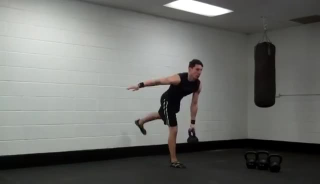 55 kettlebell side bends GIFs