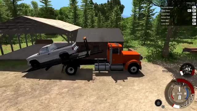 Watch and share BeamNG.drive - T-Series Rollback Flatbed Tow Truck GIFs on Gfycat