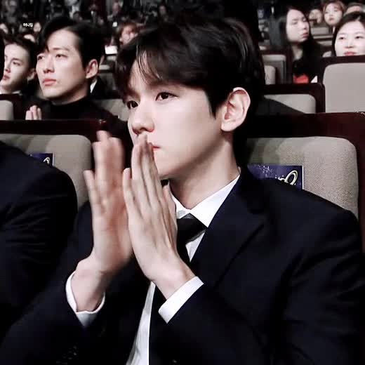 Watch and share Baekhyun GIFs and Celebs GIFs on Gfycat