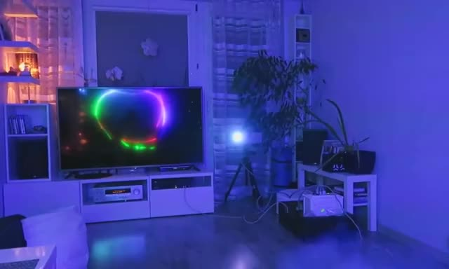 Watch and share Full RGB Laser + Fog Machine GIFs by t-h-a-t-o-n-e-8-6 on Gfycat
