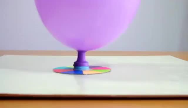 Watch and share How To Make A Balloon Hovercraft | Easy Crafts For Kids. GIFs on Gfycat