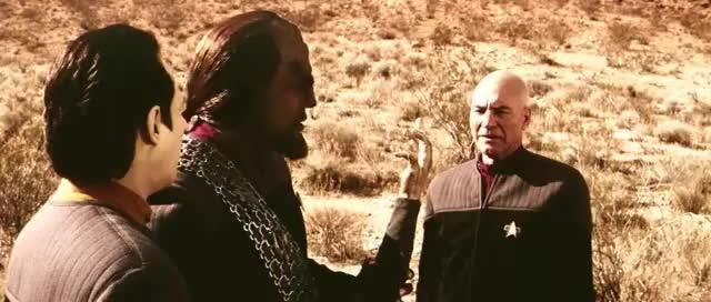 Watch this star trek GIF by Star Trek gifs (@star-trek-gifs) on Gfycat. Discover more brent spiner, captain picard, commander worf, data, jean-luc picard, klingon, michael dorn, nemesis, patrick stewart, picard, quote, star trek, star trek beyond, star trek enterprise, star trek into darkness, star trek nemesis, star trek voyager, worf GIFs on Gfycat