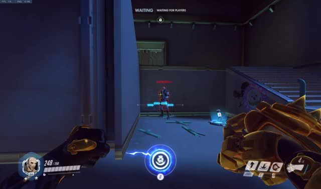 Standing against the wall to counter doomfist is a myth