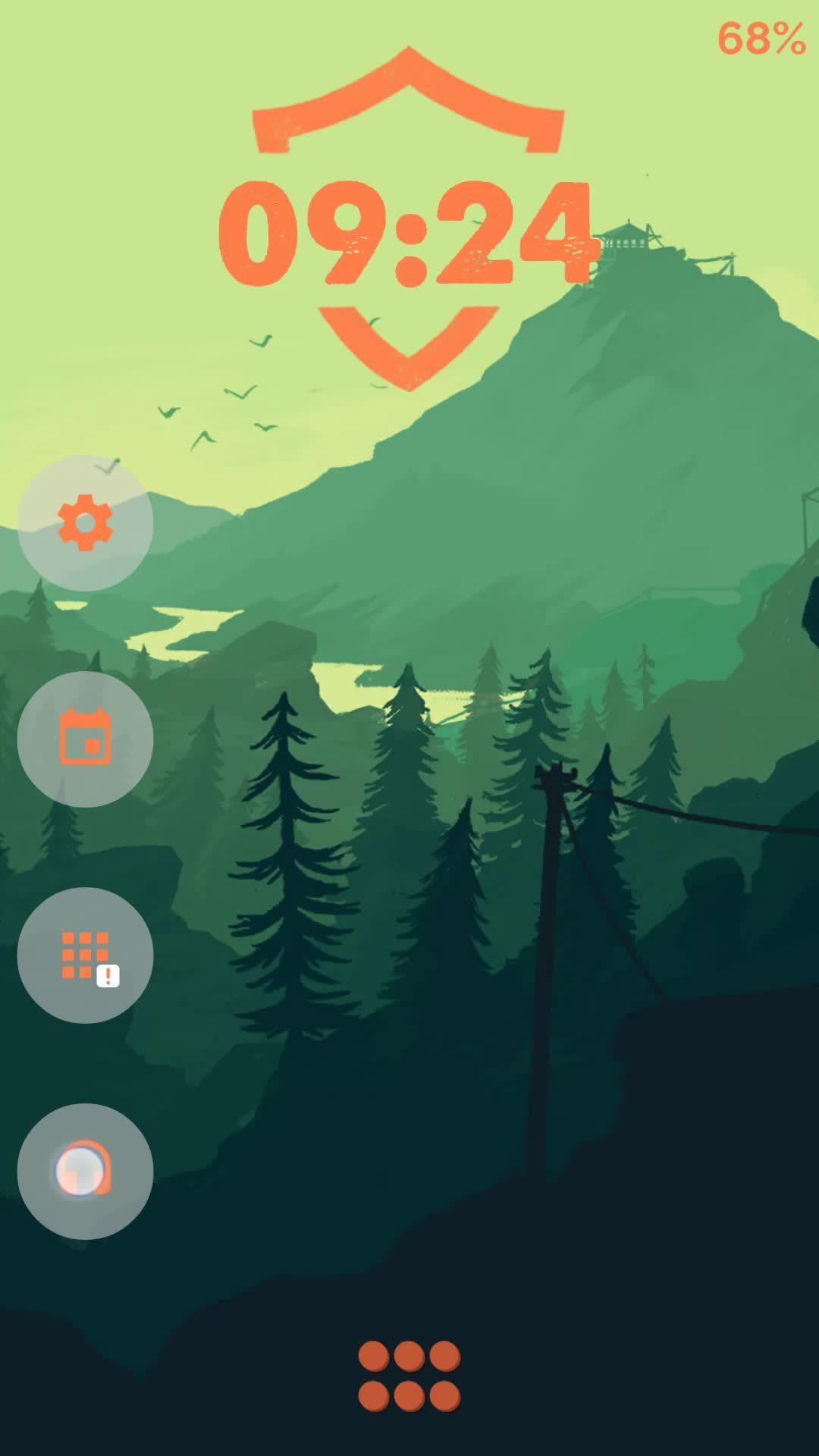 androidthemes, Firewatch Theme 2 GIFs
