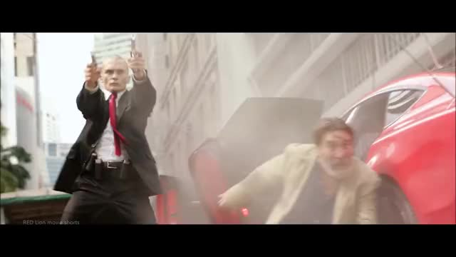 Hitman Agent 47 2015 Street Shootout Scene 1080p Full Hd Gif