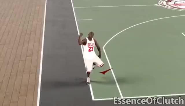 Watch and share MICHAEL JORDAN HIT DEM FOLKS (DANCE VIDEO) NBA2K17 GIFs on Gfycat