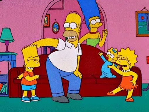 When me and my Simpsons loving family heard about the marathon on FXX (reddit) GIFs