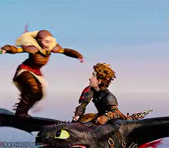 Watch and share Astrid Hofferson GIFs and Httydedit GIFs on Gfycat