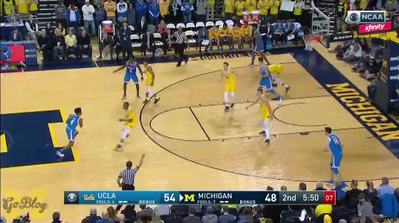 Watch and share Isaiah Livers GIFs and Moritz Wagner GIFs by MGoBlog on Gfycat