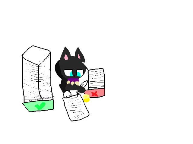 Watch and share Warrior Cats GIF: Paperwork?! By NyanChibiKitten GIFs on Gfycat
