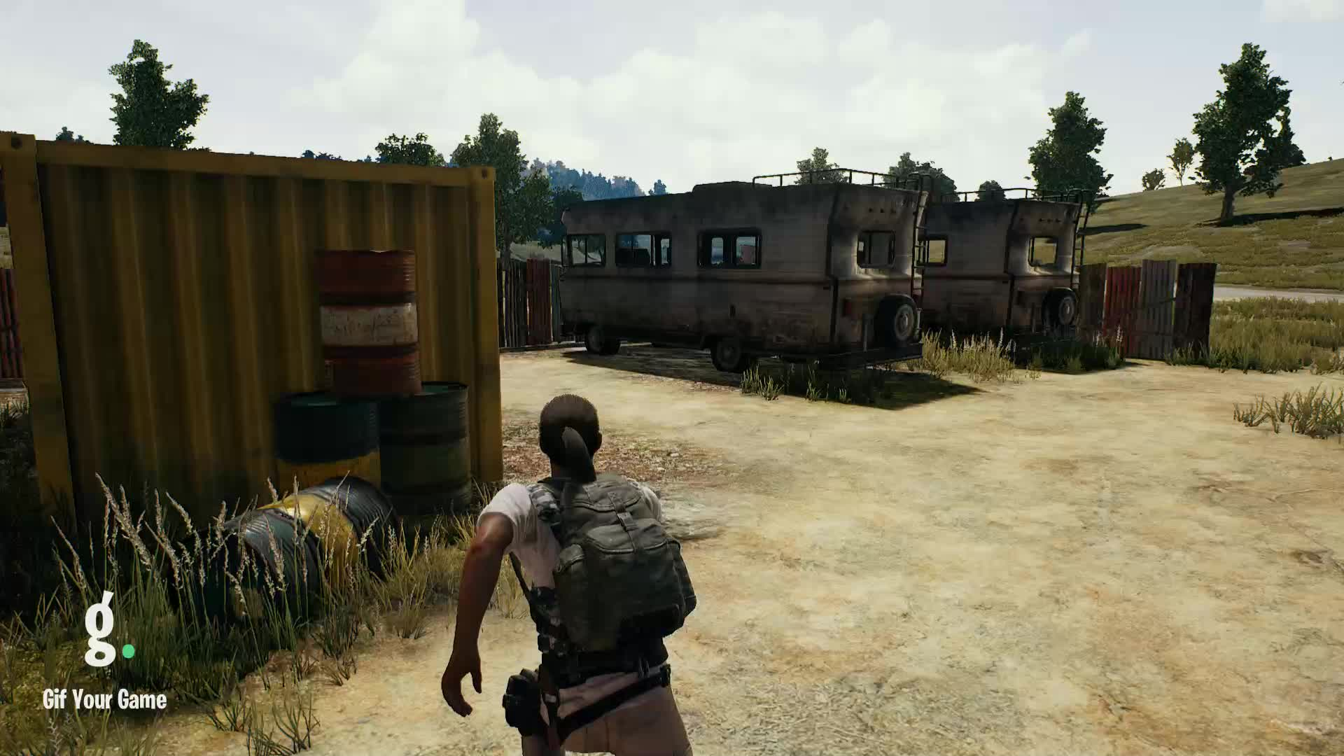 Gif Your Game, GifYourGame, PUBATTLEGROUNDS, pubg, gifyourgame user clip 2 GIFs