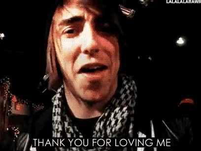 Watch To all my followers GIF on Gfycat. Discover more alex gaskarth, all time low, atl, i love you all, thank you for loving me, thanks for putting up with me GIFs on Gfycat