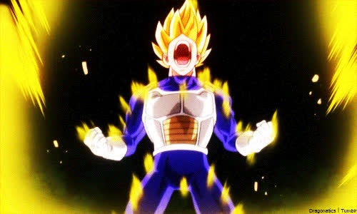 All super saiyans and fusions GIFs