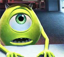 Watch and share Disney Pixar Movies GIFs and Mike Wazowski GIFs on Gfycat