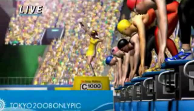 Watch Olympic Swimming GIF on Gfycat. Discover more game, silly GIFs on Gfycat