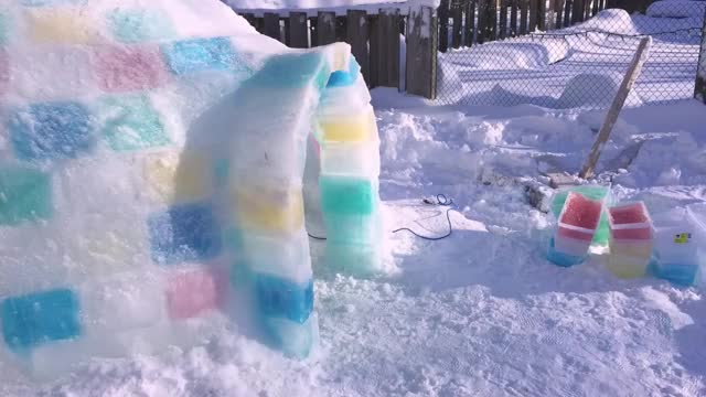 Ice Igloo Time Lapse Aaron Cyr