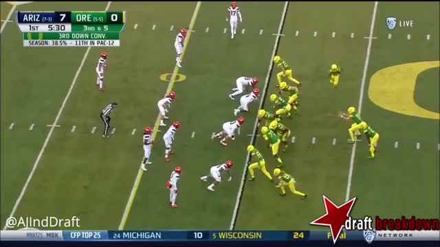 Watch and share Justin Herbert GIFs and Football GIFs on Gfycat