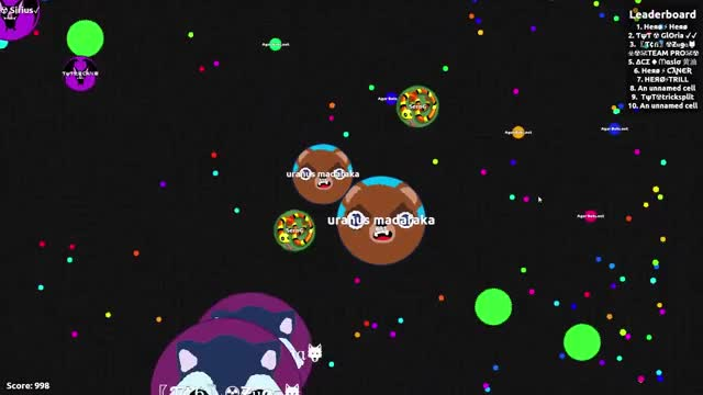 Watch and share Agario GIFs on Gfycat