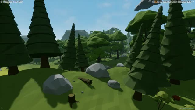 UE4 Low Poly VR Wind GIF by (@draxusd) | Find, Make & Share