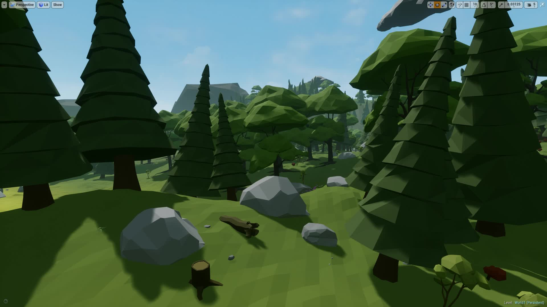 Low Poly, UE4, VR, UE4 Low Poly VR Wind GIFs