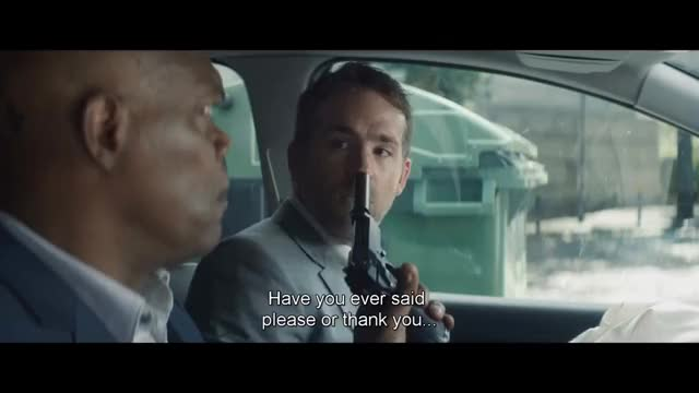 "Watch The Hitman's Bodyguard: ""Please, Motherfucker!"" Scene 