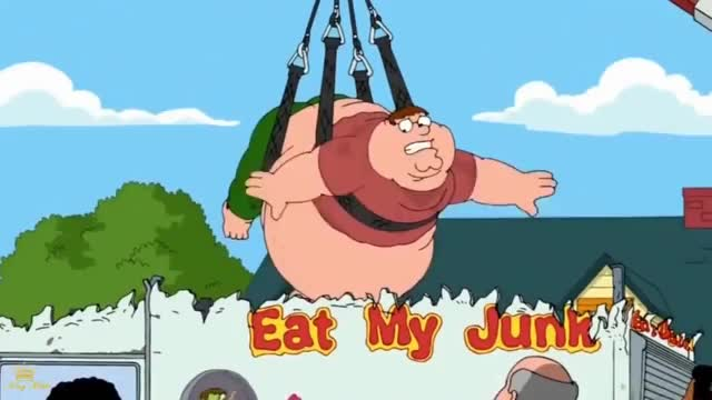 Watch and share Family Guy - Obese Peter's Being Rescued GIFs on Gfycat