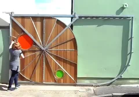 oddly satisfying, construction, engineering, Very extra gateway GIFs