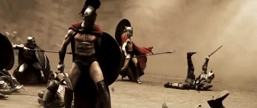 Watch and share This Is Sparta GIFs and Gerard Butler GIFs on Gfycat