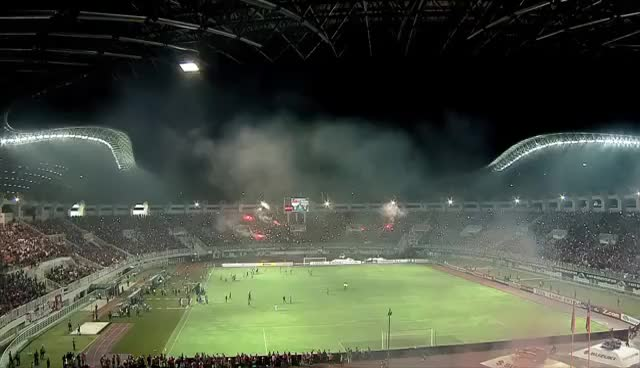 Watch and share Indonesia Vs Thailand (AFF Suzuki Cup Final: First-leg) GIFs on Gfycat